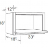 Microwave Oven Cabinet